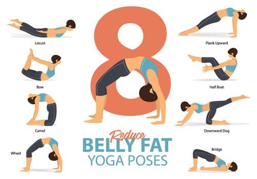 8 poses de yoga pour réduire la graisse abdominale