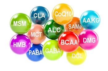 ensemble de molecules complement de musculation naturel