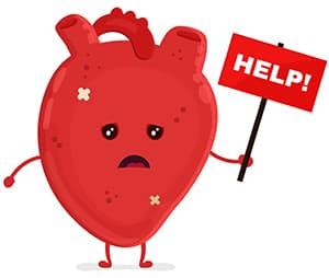 heart unhealthy
