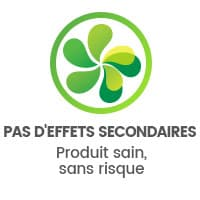 PAS D'EFFETS SECONDAIRES