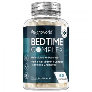 Gélules Bedtime Complex - Complément naturel pour dormir par WeightWorld