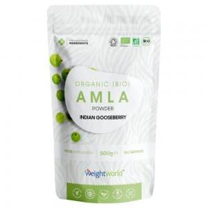 Poudre d'Amla Bio -  Soutien naturel à l'immunité, au coeur, à la peau et aux cheveux - 500g
