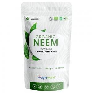 Poudre de Neem Bio - Détoxifiant et soutien à l'immunité certifié bio - 200G