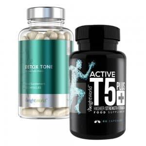 Pack minnceur et detox - active t5 + detox tone