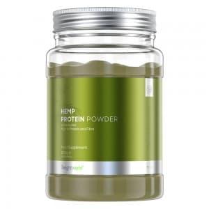 Protéine de Chanvre en Poudre - Poudre Végétale pour le Développement Musculaire avec Oméga 3, 6 & 9 - 500G