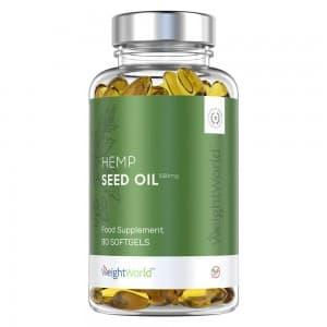 Hemp Seed Oil 1000 mg Softgels