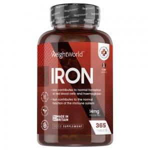 Fer en Comprimés | Complément Alimentaire pour préserver le système immunitaire et la production des globules rouges et de l'hémoglobine.
