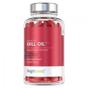 Gélules Huile de Krill - Source Oméga 3 - WeightWorld