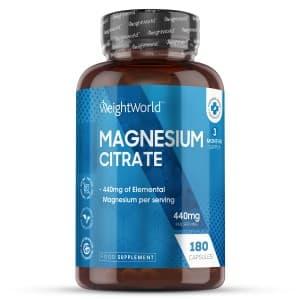 Citrate de Magnésium | Pour le coeur, les os et les muscles