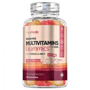 Gummies Multivitaminés pour Enfants | Complexe de 12 Vitamines et Minéraux