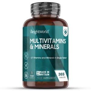 Multivitamines et Minéraux 365 | Formule Naturelle Complète