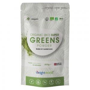 Super Greens - Puissants super-aliments en poudre pour la vitalité et la gestion du poids - 200g