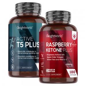 Raspberry Ketone Plus & Active T5 Plus