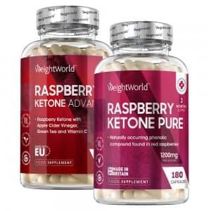 Raspberry Ketone Pure + Raspberry Ketone Plus