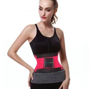 ceinture de sudation femme rose
