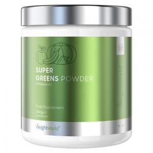 Super Greens - Formule Gestion du Poids et Vitalité à base de Plantes - WeightWorld - 240g