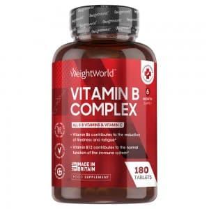 Complexe de Vitamines B | Complément Alimentaire Naturel pour prendre soin du corps