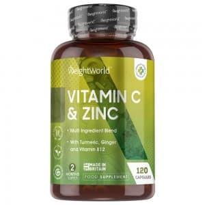 Zinc et Vitamine C en Gélules  - WeightWorld