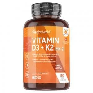 Vitamine D3 et K2 (MK7)
