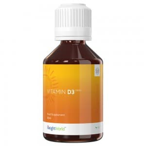 Goutte de vitamine D3 par WeightWorld