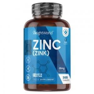 Comprimés de Zinc | Destinés au système immunitaire et aux Fonctions cognitives