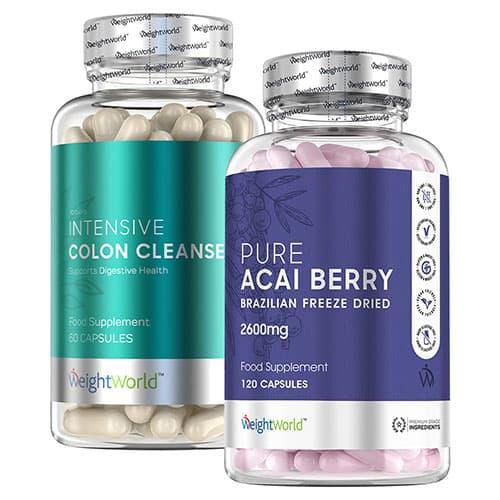 Pure Açaï & Colon Cleanse | Detoxification | Weightworld.fr