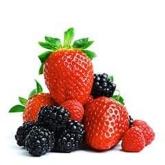 Trouve t-on les mêmes effets dans les fraises ou les mûres